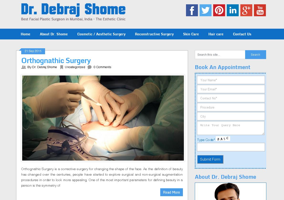 Dr. Debraj Shome - Blog
