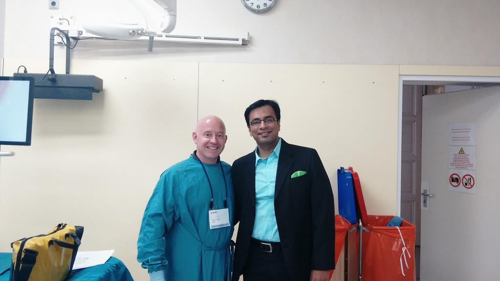 With David Kreit, Director, Facial Plastic Surgery, University of Kansas, USA.