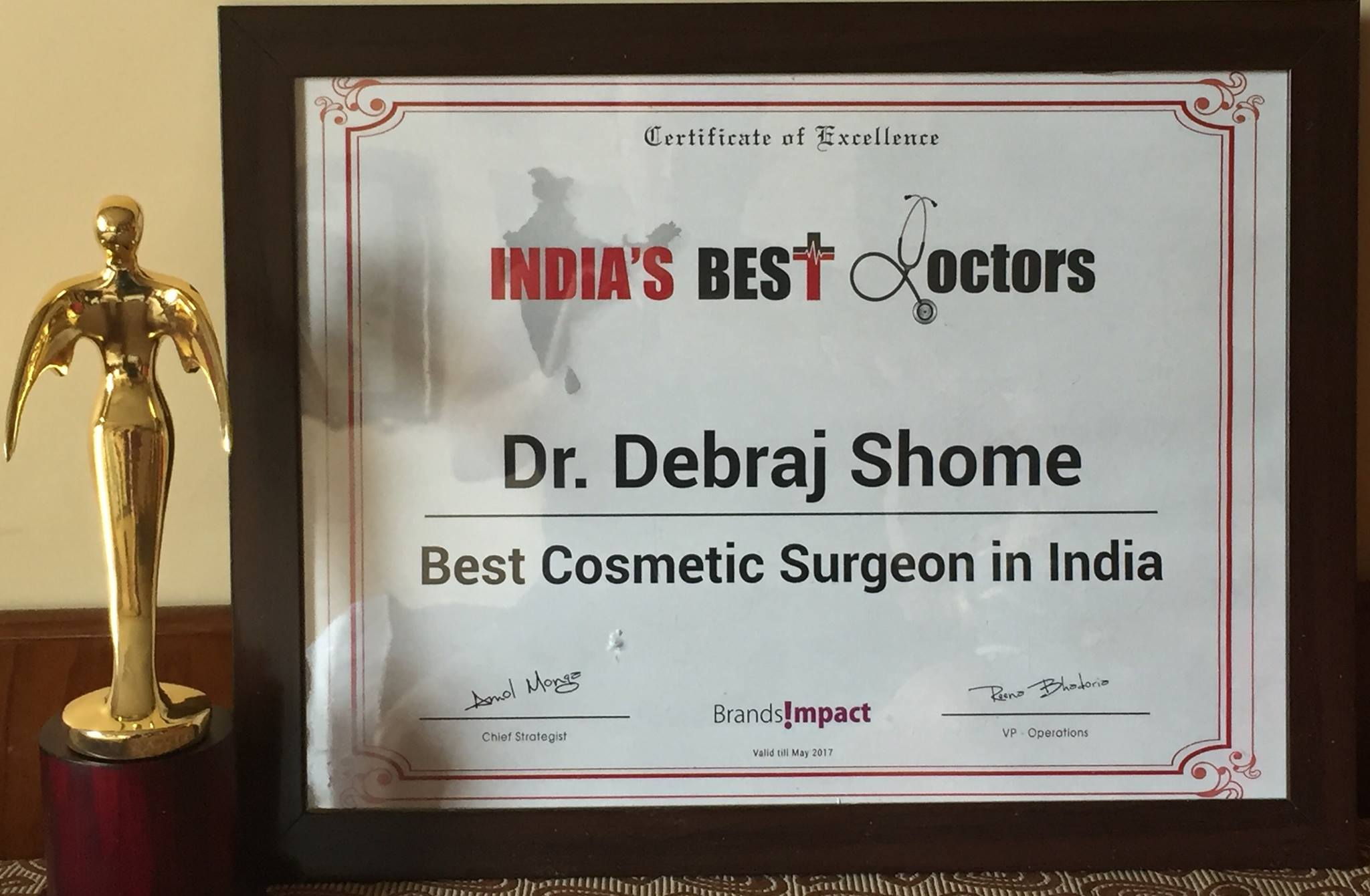 Dr Debraj Shome Best Cosmetic Surgery in India-min